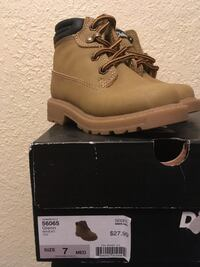 Size 7 T small boys boots.
