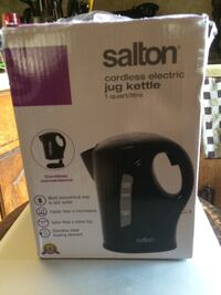 SALTON JK1641B CORDLESS 1LITRE KETTLE London, N6C 1J5
