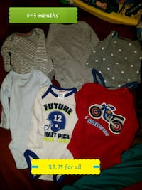 Baby boy assorted clothes Amarillo, 79106