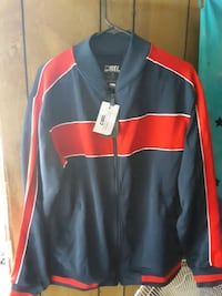 Blue & Red CSG Large Jacket with Tags