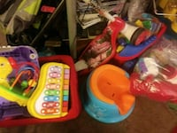 toddler's assorted plastic toys Moreno Valley, 92553