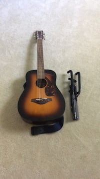 Child's Guitar and Stand and Strap
