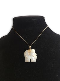 10k Jade Elephant Necklace  Alexandria, 22304