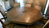 Dining room table (seats 8) Osprey, 34229