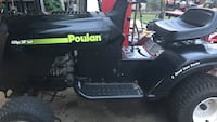 Black and green poulan ride-on mower Owings, 20736