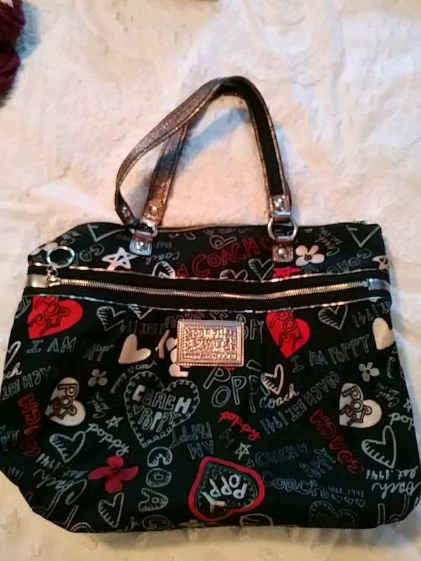 Coach Purse Poppy Collection