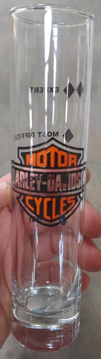 Harley Davidson Shot Glass