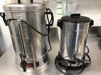 Coffee makers for rent 35 and 100 cups  with 100$ deposit Laval, H7S 1M8
