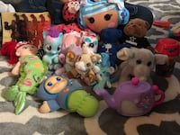assorted animal plush toy lot Chesapeake, 23324