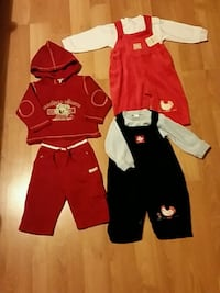 Baby Girl size 9-12 months(3 suits with tags)  Wenatchee, 98801