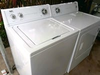 white top-load washer and dryer set McAllen, 78501