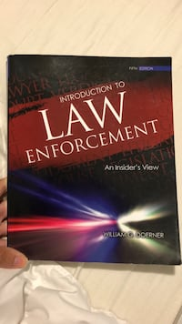 Introduction to Law Enforcement: An Insider's View  Tallahassee, 32304