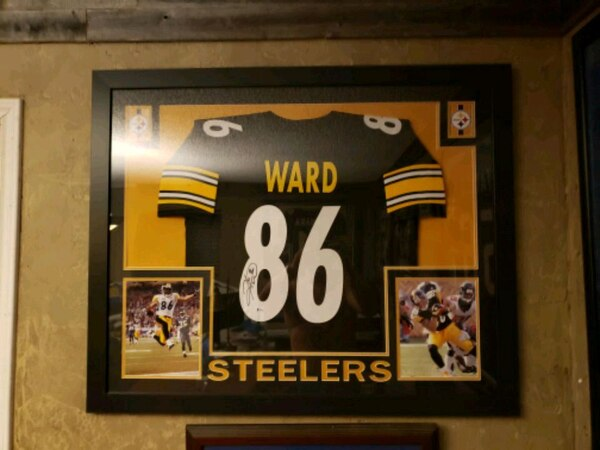 new concept 6b779 ffb88 Hines Ward Autographed Jersey