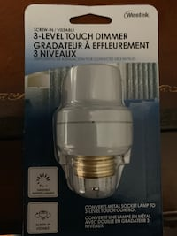 Screw in touch dimmer. Brand new Mc Lean, 22101