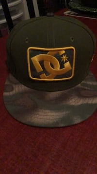 DC Camo cap with snap back