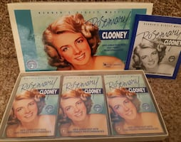 Rosemary Clooney 3 Cassette Tapes   Reader's Digest   Excellent Used C