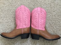 Girls leather Cowboy boots New Berlin, 53151