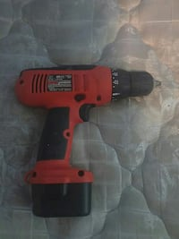 red and black wireless hand drill Aberdeen, 21001