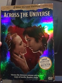 Across the Universe DVD case