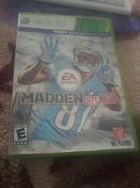 Madden NFL 15 Xbox 360 game case East Palo Alto, 94303