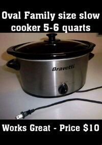 stainless steel Crock-Pot slow cooker Mississauga, L4X 1T7