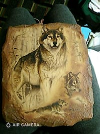 Wolf wooden pic Pensacola, 32506