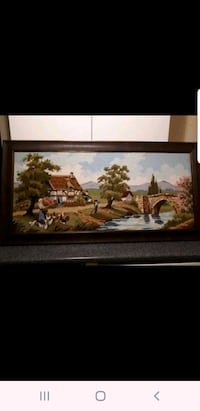 Beautiful framed needlepoint Vaughan, L4H 2H2