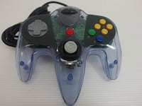 LIKE NEW/SharkPad Pro 64 Controller (Clear/Purple) by InterAct