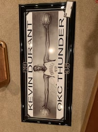 "Kevin Durant Autographed Oversized ""Wings"" Poster"