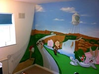 custom wall painter Spencer