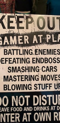 GAMERS SIGN