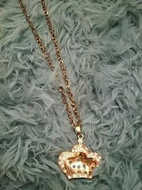 gold-colored chain necklace Frederick, 21702