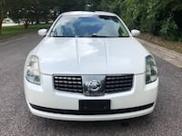 white Nissan Maxima 2006 sedan Washington