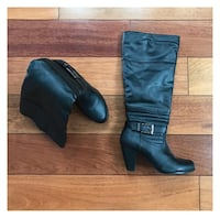 New Pair of black boots size 6  Oakville, L6L 5A8