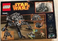 Lego star wars general grevious' wheel bike (75040) (sealed, retired).