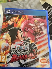 One Piece Burning Blood Sony PS4 spill tilfelle