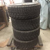 Michelin gravel rally tires 17/65 R15 mounted on 5x100 wheels. Broad Run, 20137