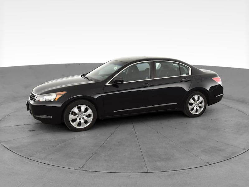 2010 Honda Accord sedan EX Sedan 4D Black  3