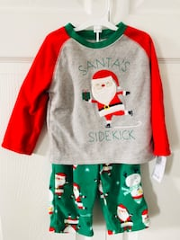 New 18M Carters Just For You Santa's 2 piece Pajama Set (pick up only) Alexandria, 22310