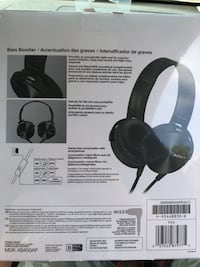 Sony  extra bass headphones. 541 km