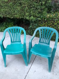 Emerald Green Patio Chairs