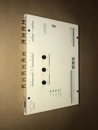 Audiocontrol 3xs 6 channel crossover Alexandria, 22314