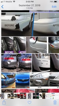 Safe auto repair  We fix all types of dents  Dents-frame-rust-paint-replaceparts-and much more ....  $399in up whole car paint jobs stage 1 and 2 paint available.must bring car to fshop for full paint jobs.  $99 in up dent in plastic fiberglass bumpers    Gaithersburg, 20878