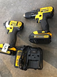 Dewalt USA impact compact combo sale 3 batteries and more