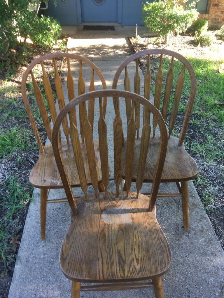Chairs   Lot Of 3   MADE IN FORNEY TEXAS