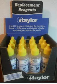 New case of 12 Taylor test reagents