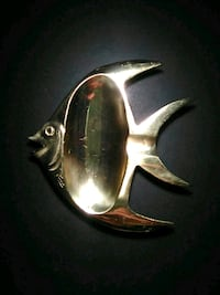 Brass fish ashtray Calgary, T2A 1L5