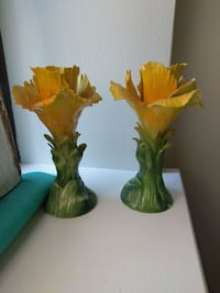 Vintage Lovely Yellow Roses Made in Italy!
