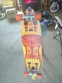 Kryptonic longboard