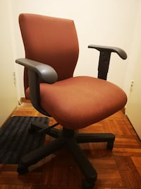 brown and black rolling armchair Washington